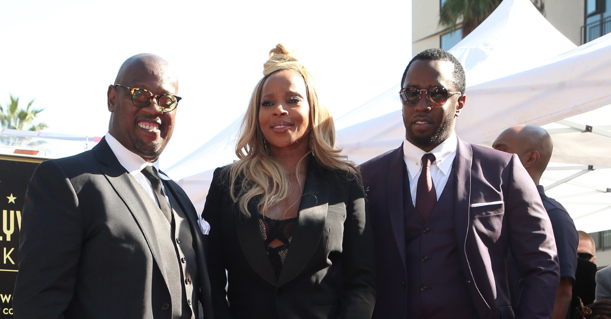 Diddy, Mary J Blige and Andre Harrell