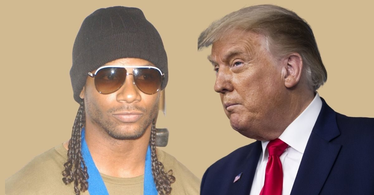 Polow da Don and Donald Trump
