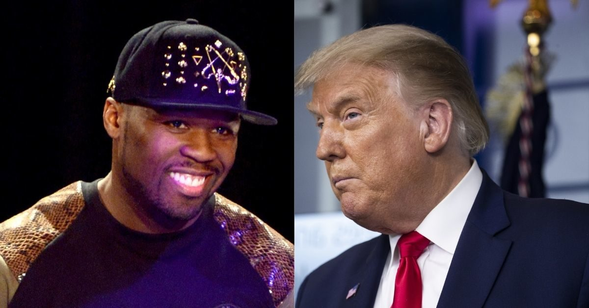 50 Cent and President Trump
