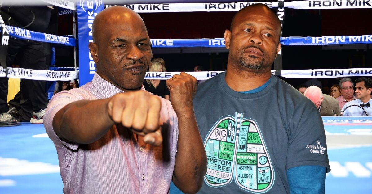 Mike Tyson and Roy Jones Jr