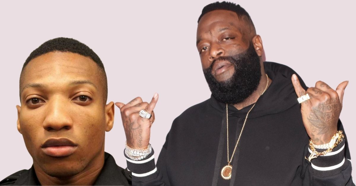 Rick Ross and Vance Gumbs