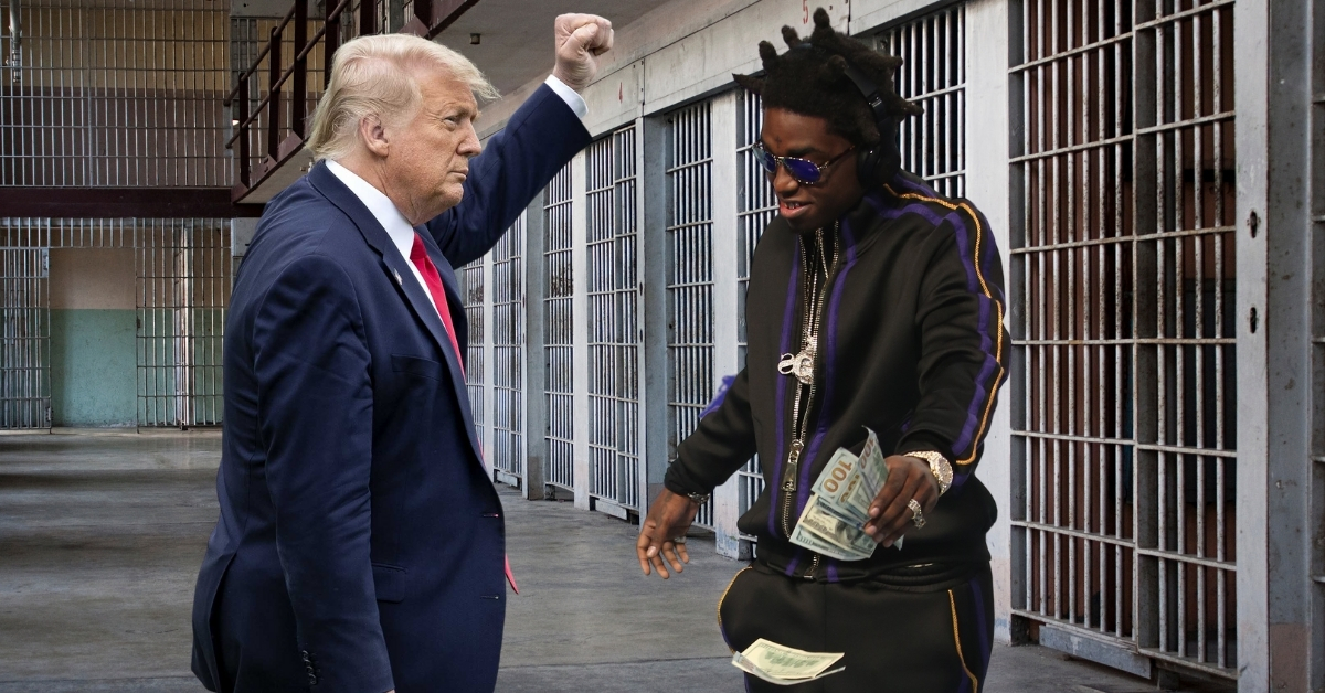Donald Trump and Kodak Black