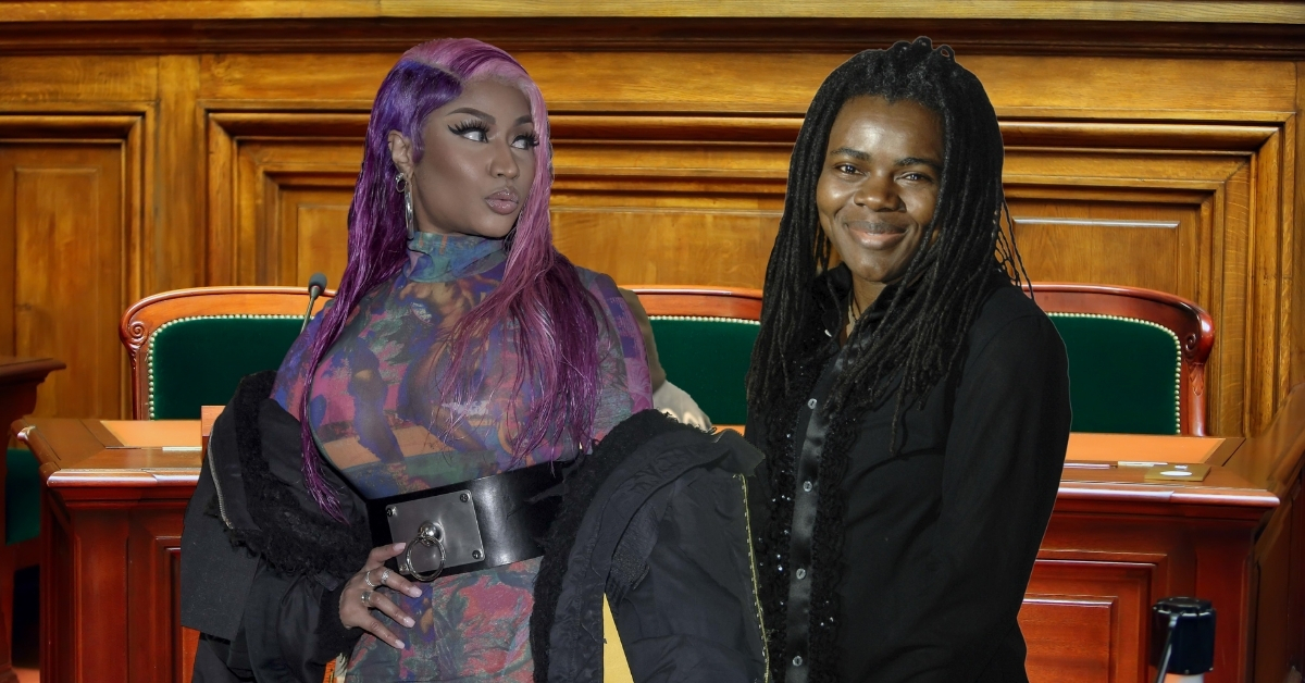 Nicki Minaj and Tracy Chapman