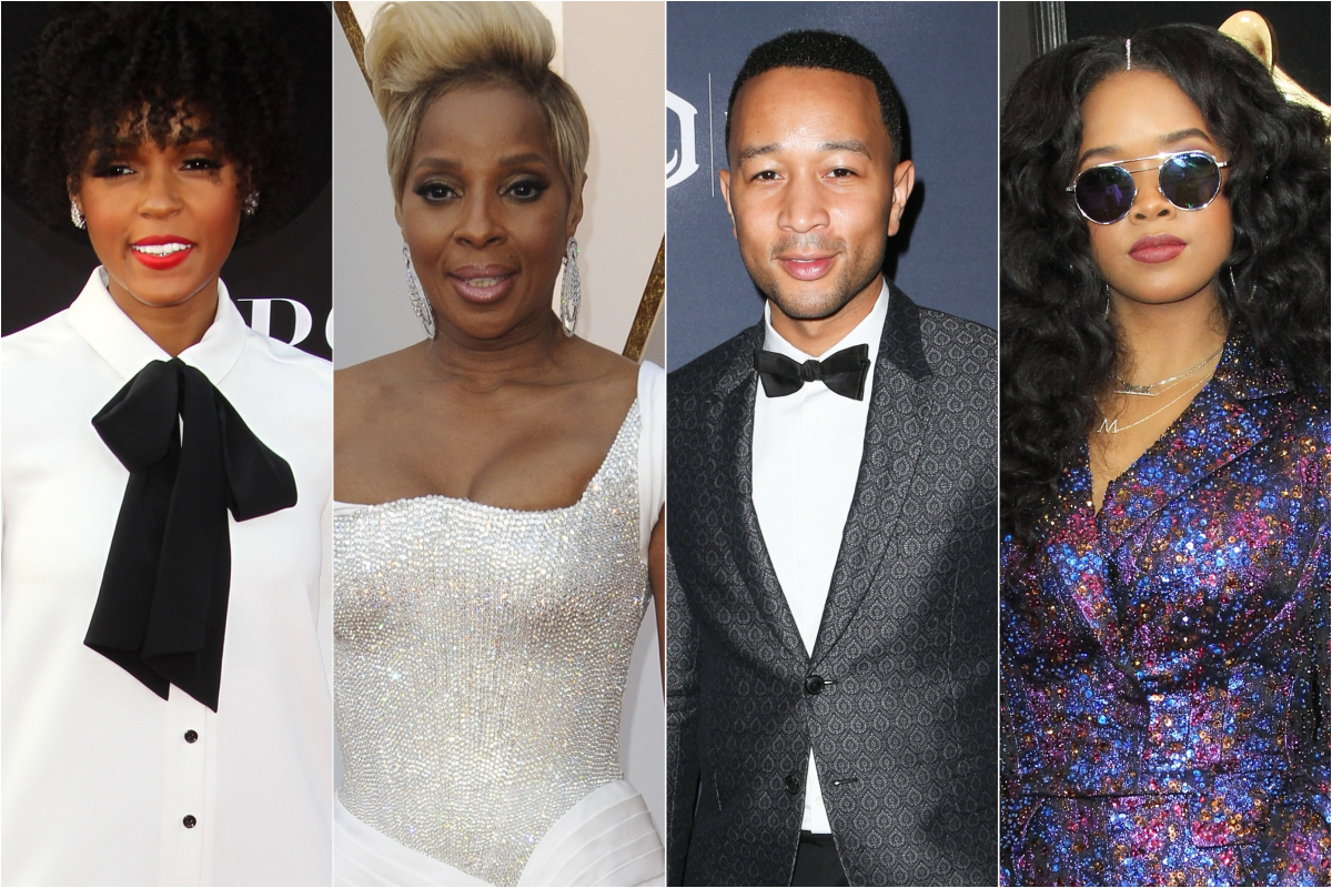 Songs By Janelle Mone, Mary J. Blige, John Legend & H.E.R. Named To Oscar Nominations Shortlist