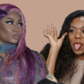 Nicki Minaj and Lady Leshurr