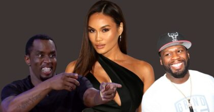 Diddy, Daphne Joy and 50 Cent