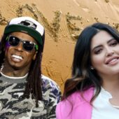 Lil Wayne and Denise Bidot