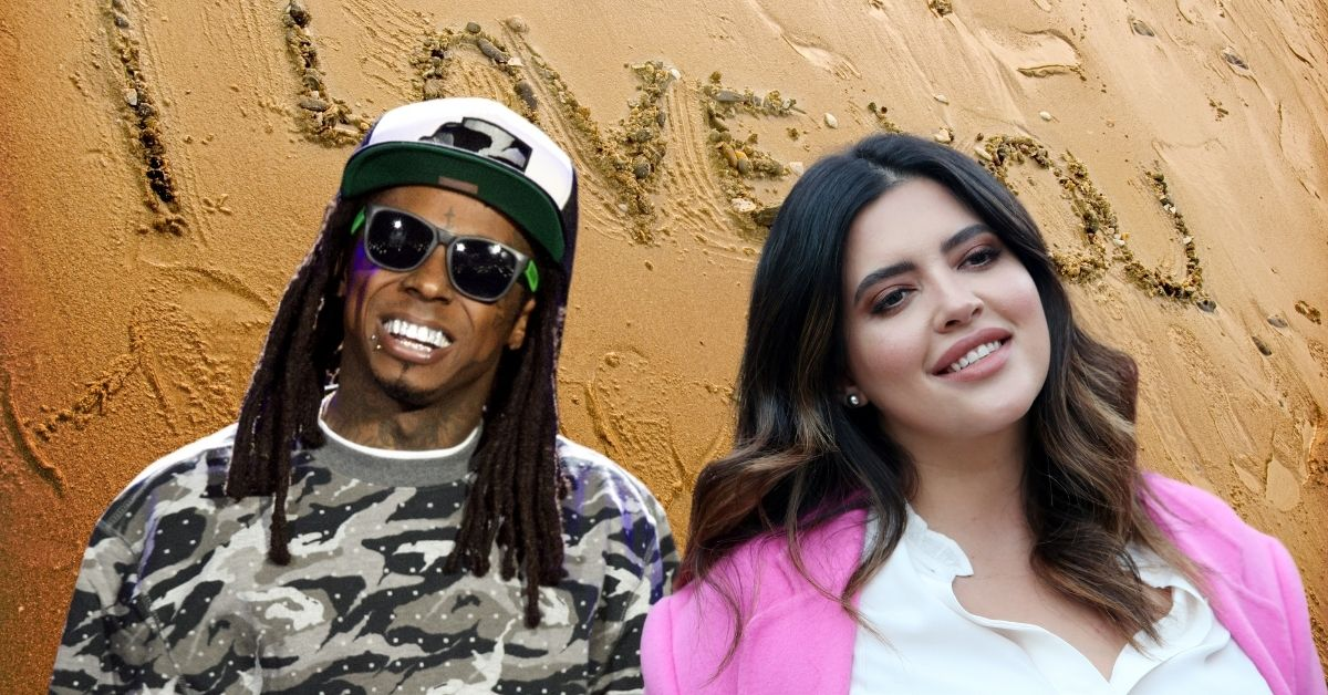 Lil Wayne, Denise Bidot Show PDA With Romantic Beach Message